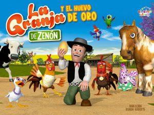 """Obra de teatro """"La Granja de Zenón y El Huevo de Oro"""""""